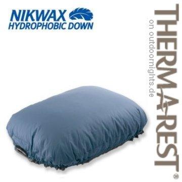 ... Therm A Rest Ist Dank Einer Luxuriösen Hydrophoben (wasserabweisenden)  NIKWAX 650+ Daunenfüllung Ein Besonders Weiches Und Entsprechend Bequemes  Kissen.